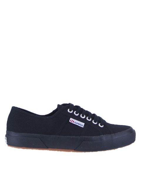 SUPERGA Sneakers ΜΑΥΡΟ